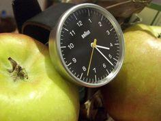 Próximo relógio de pulso é Braun. Este mesmo.