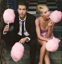 Cute engagement photoshoot idea or boy/girl announcement with blue and pink cotton candy Themed Engagement Photos, Engagement Shoots, Engagement Pictures, Engagement Ideas, Engagement Couple, Wedding Engagement, Fashion Photography, Wedding Photography, Candy Photography