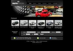 Site institucional da Paíto Motors. Layout e HTML / CSS. Agência: Wdesign e Associadoss