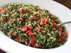 Tabbouleh is very easy to make, as long as you can run a food processor and chop tomatoes.Really, the only part that is a bit of a hassle is pulling the parsley leaves off the stems.But, if you t…