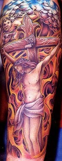 21891c5b7 Crucifix Tattoo Designs For Men: The Crucifix Tattoo Ideas And Meaning For  Men ~ tattooeve