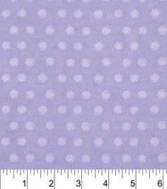 Snuggle Flannel Fabric-Purple Dot