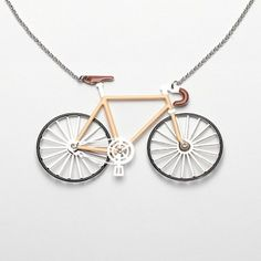 Bike Necklace Les Néréides