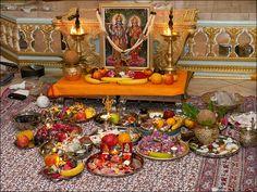 Wealth and Prosperity with Lakshmi Puja on Diwali Diwali Decorations At Home, Festival Decorations, Table Decorations, Ganesha Rangoli, Pooja Room Door Design, Lord Krishna Wallpapers, Puja Room, Hindu Deities, Hinduism