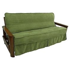 Futons Frames And Covers 131579 Blazing Needles Solid Microsuede Double Corded 8 To 9