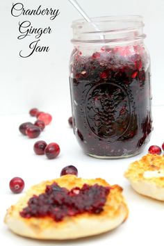 ... cranberry ginger jam cranberry ginger jam a quick and easy sweet and