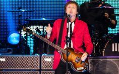 Paul McCartney e banda durante show em Brasília - http://glo.bo/1SgCafK #PaulMcCartney #music #beatles #paul (foto: Fábio Tito/G1)