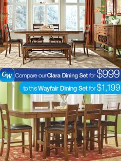 Save $200 on our Clara Dining Set!