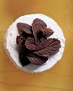 Chocolate Cupcake Recipes: Chocolate-Mint Cupcakes