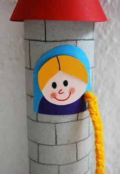 Rapunzel im Turm patricks day bricolage Rapunzel basteln Middle School Art, Art School, Fairy Tale Crafts, Fairy Tale Activities, Deck Design, Diy For Kids, Textiles, Art Lessons, Fairy Tales