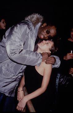 Kate Moss with P.Diddy.