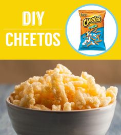 THIS IS THE BEST BUZZFEED I HAVE EVER LAID EYES UPON.-Homemade Cheetos | 27 Classic Snacks You'll Never Have To Buy Again