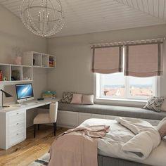 Bedroom Decor For Teen Girls, Small Room Bedroom, Small Rooms, Bedroom Lamps, Wall Lamps, Bedroom Ideas, Bedroom Lighting, Bedroom Wall, Room Interior