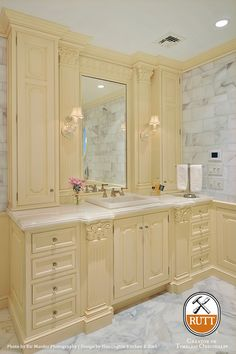 Rutt HandCrafted Cabinetry             » Elegant Master Bath Suite