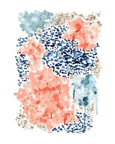 Click to see 'Flutter Watercolor' on Minted.com
