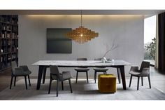 Howard Table by J. M. Massaud for Poliform