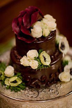 Chocolate wedding cake http://whytaboo.com.au/