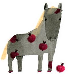 Drawings and Everything: A pony, by dasha tolstikova