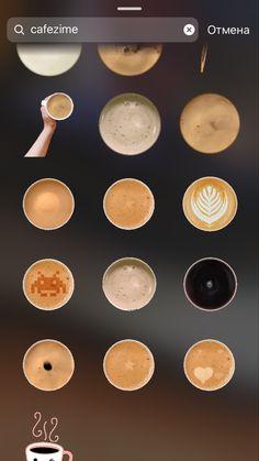 Stickers Instagram, Instagram Emoji, Iphone Instagram, Coffee Instagram, Instagram Frame, Instagram And Snapchat, Instagram Blog, Instagram Story Ideas, Creative Instagram Photo Ideas