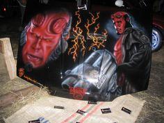 hellboy Airbrush