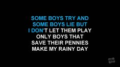 Material Girl in the style of Madonna karaoke video with lyrics no lead ...