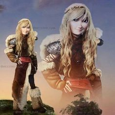 Close-up of Astrid from the Family portrait! #howtotrainyourdragon #hiccstrid…
