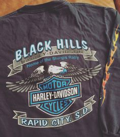 83cc0f76 #harleydavidson #vintageharley #vintagetee Vintage Tees, Harley Davidson,  Vintage T Shirts. Depop