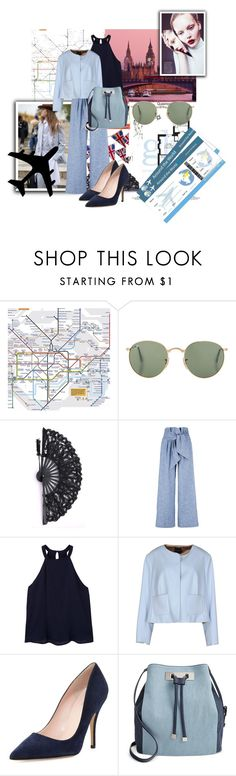"""""""London"""" by siristorh ❤ liked on Polyvore featuring MSGM, MANGO, Natan, Kate Spade and INC International Concepts"""