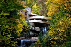 Because you forget that Frank Lloyd Wright didn't just plop his designs near any city. | 26 Ways Pittsburgh Ruins You For Life