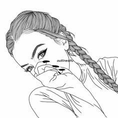 Képtalálatok a következőre: girl drawings Cute Drawings Tumblr, Tumblr Art, Girly Drawings, Pencil Art Drawings, Tumblr Girls, Tumblr Sketches, Hipster Girl Drawing, Tumblr Girl Drawing, Girl Drawing Sketches