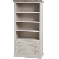 The Studley Collection Large 3 Drawer Bookcase