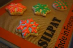 Silpat is a must-have holiday baking tool.