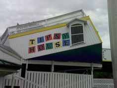The Tipsy House at Arnold's Park, Iowa. The most fun in the winter when its covered in ice! Geisha Book, Clay County, Our Town, Iowa, Childhood Memories, The Past, Fair Grounds, Vacation, Roller Coasters