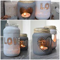 Christmas Candles, Christmas Crafts, Christmas Decorations, Mason Jar Crafts, Mason Jar Diy, Crafts To Sell, Diy Crafts, Adornos Halloween, Jar Art