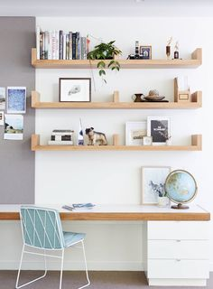 Minimalist office | home office inspiration | office decor