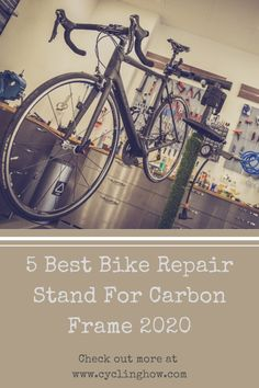 Are you looking for the best bike repair stand for carbon frame? Read on to find our unbiased reviews for the top-rated cycle work stands available online.#bikerepairstand#cyclingeqiupment#cyclingaccessories Road Bike Accessories, Bike Repair Stand, Cool Bikes, Top Rated, Cycling, Bicycle, Frame, Picture Frame, Biking