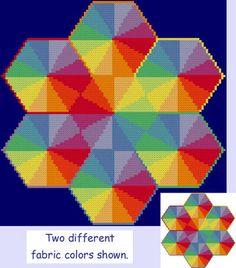 Conglomeration cross stitch pattern.