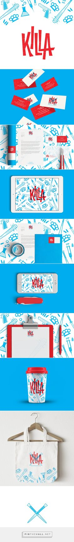Project: Killa Production branding | Designer: Nick Edlin