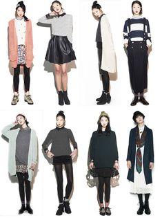 outfits #korean