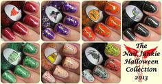 The Nail Junkie: OFFICIAL RELEASE AND GIVEAWAY: My 2013 Halloween Nail Polish Collection