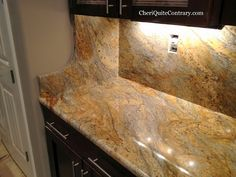 Yellow River Granite Installed June 17 2010 Kitchen