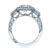 Tacori Blooming Beauties HT2524CU Engagement Ring