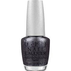 OPI Designer Series Pewter Nail Lacquer ($7.09) ❤ liked on Polyvore featuring beauty products, nail care, nail polish, makeup, nails, black, opi, opi nail varnish, opi nail care and opi nail polish