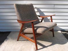 Danish modern chair, for living room.