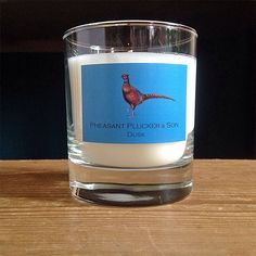 Are you feeling frazzled? Pheasant Plucker & Son's Dusk candle has soothing notes of Lavender and Rose which are really good for relieving anxiety and restoring emotional balance.