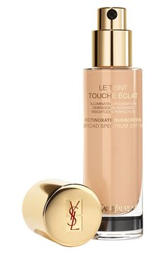 Yves Saint Laurent 'Touche Éclat' Foundation THE best foundation I've ever worn available at #Nordstrom