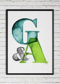 Plakat G&A
