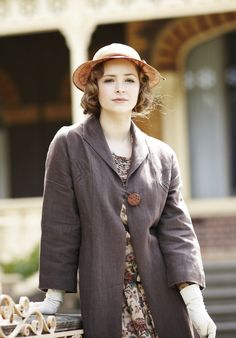 Dorothy 'Dot' Williams (Ashleigh Cummings) in 'Miss Fisher's, Murder Mysteries'
