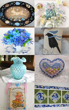 Something About Blue by arcadecache on Etsy--Pinned with TreasuryPin.com