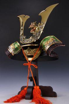 Japanese Samurai Helmet -Dragon And Tiger Kabuto-